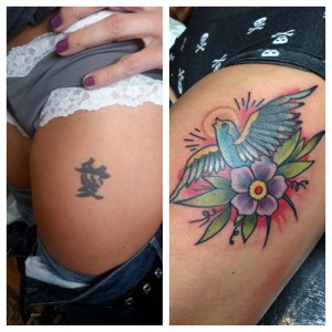 Cover up tattoo artists