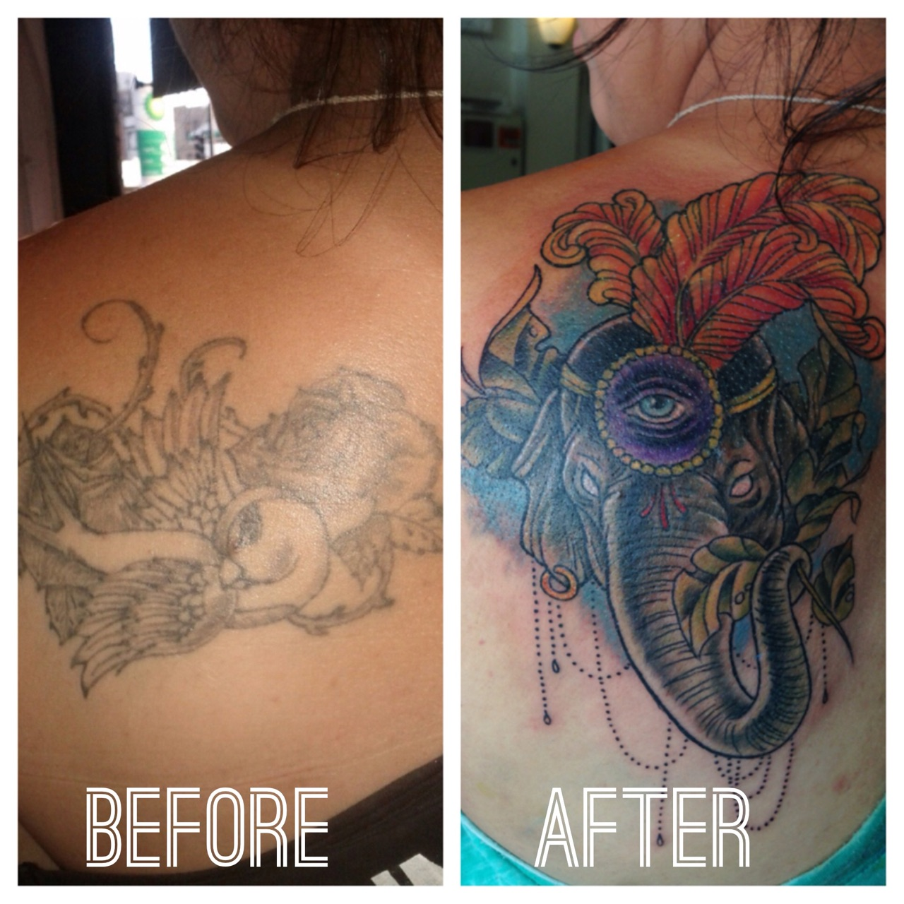 Cover up tattoos royal flesh tattoo and piercing chicago for How to cover tattoos
